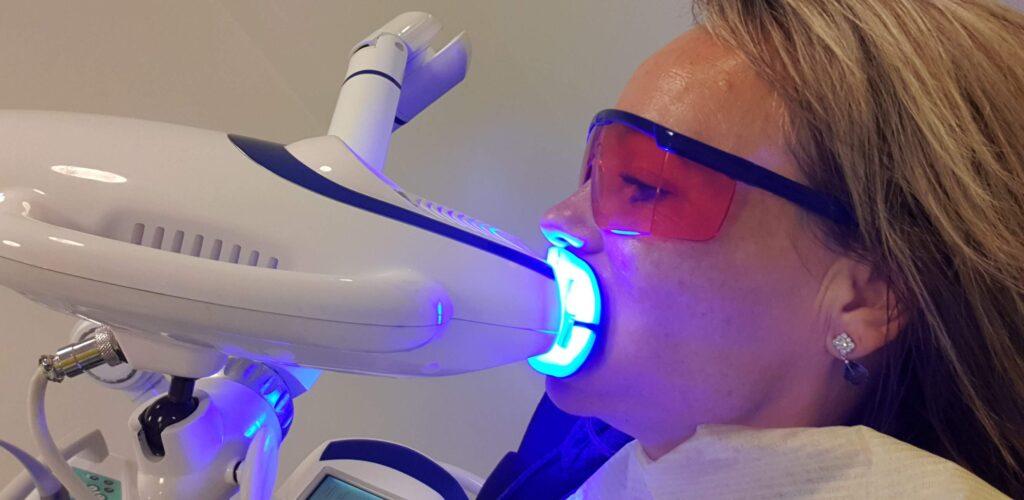 Mine nye tænder!