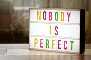Ingen er perfekte