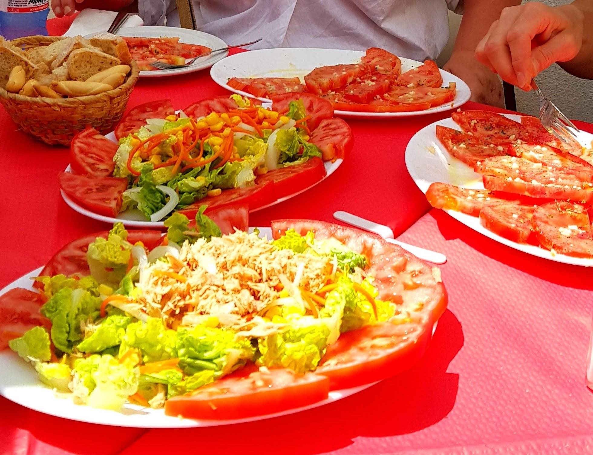 Sund frokost i Estepona
