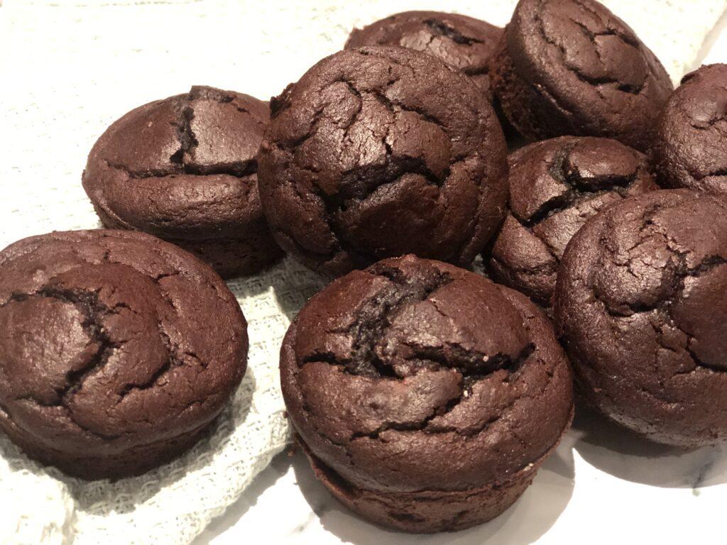 Kikærte chokolade muffins – glutenfrie