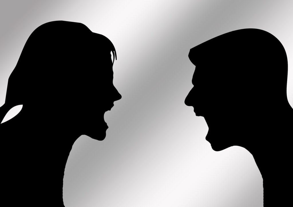Konflikter og skænderier i parforholdet