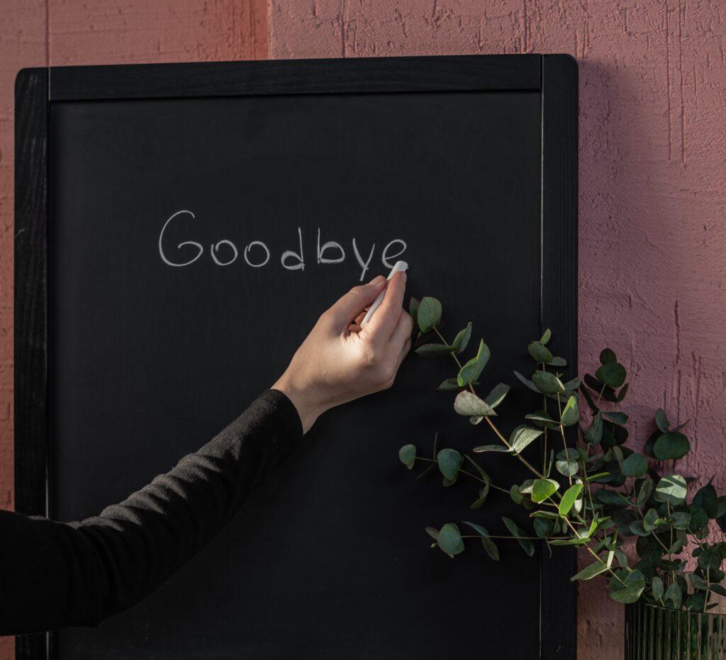Farvel til sundhedssektoren